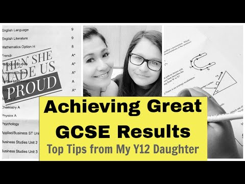 10 Top Tips for Achieving Distinctions / Great Results in GCSE! | The G♥︎ddess Mum