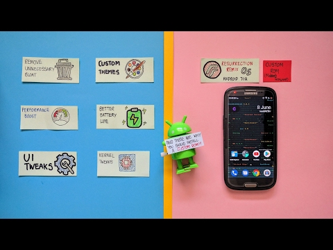 Custom ROM Features! (Galaxy S3 - Resurrection Remix)