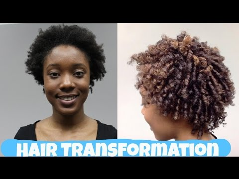 Hair Colour 101: Dying 4c Natural Hair- Color Transformation