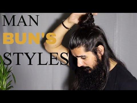 5 easy ways to do MAN BUN'S