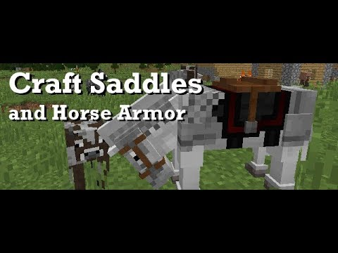Minecraft: How to Craft a Saddle