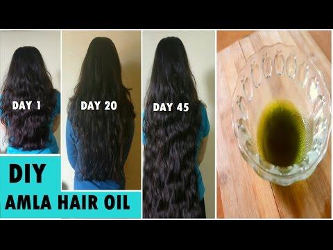 Grandma's SECRET Recipe to grow Long hair fast naturally Amla Hair Oil for Fast Hair Growth
