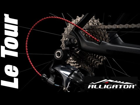 Cycling Tips - Alligator Cable Housing Install - Le Tour de Plants