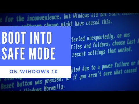How to - Boot into Safe Mode in Windows 10!