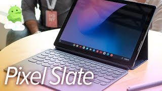 Pixel Slate hands-on: Google