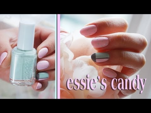 Essie's Candy Nail Design Tutorial. Nails Of Promise