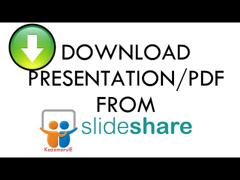 Download any PRESENTATION/PDF file from Slideshare [EASY]