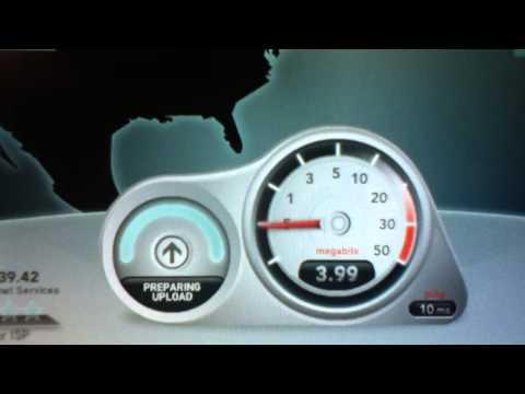 Verizon FiOs Speed Test