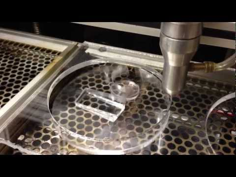 Cutting acrylic with a 60w DIY CNC laser cutter