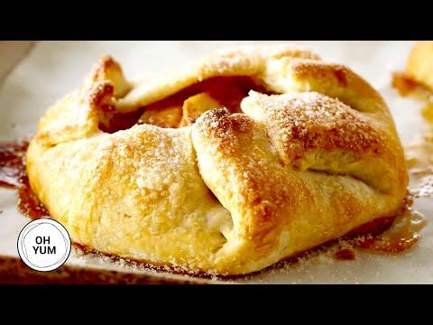Apple Cinnamon Galettes | Oh Yum With Anna Olson