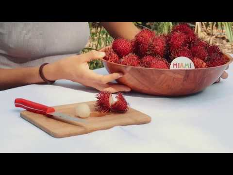 How to Tell When a Rambutan is Ripe + How to Get Them