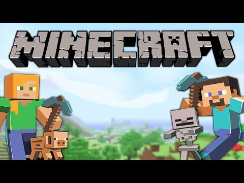 Minecraft PS3 Awesome World #3 (Dog House And Snowball Target)