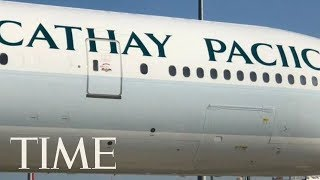 Cathay Pacific Misspelled Its Own Name On The Side Of An Airplane   TIME