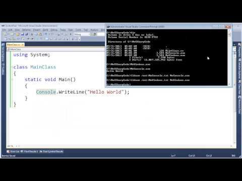 Console Application vs Windows Application