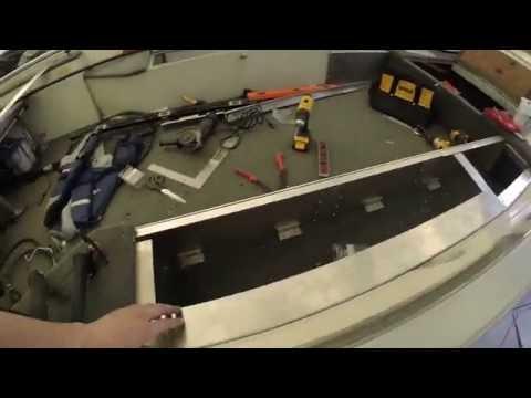 Rod Locker Install Pt 2 - Aluminum Boat Project #22
