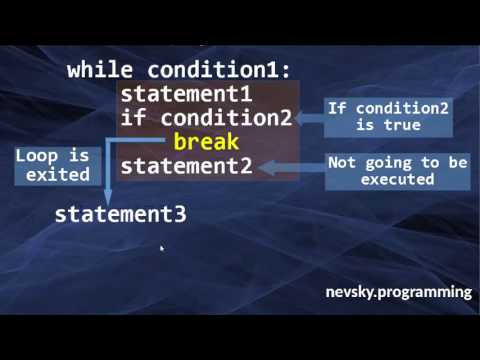 The Break Statement in Python Language | How to use break statement in Python