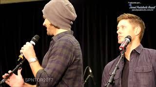 Jared e Jensen se pudessem voltar no tempo (SPNTOR 2017) - Legendado