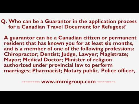 Who can be a Guarantor in the application process for a CTDR?