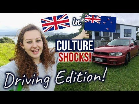 NEW ZEALAND CULTURE SHOCKS! | Driving in NZ vs the UK!