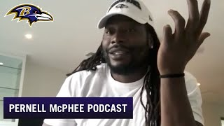 Pernell McPhee Video Chats on The Lounge | Baltimore Ravens