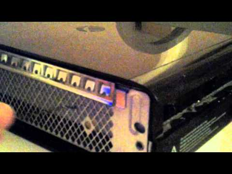How to open you xbox 360 E console disk tray
