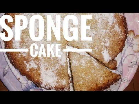 Sponge Cake / Lemon drizzle Cake.