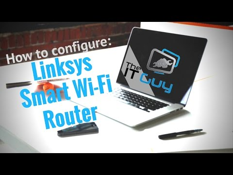 How to Configure a Linksys Smart Router - Basic Wifi Setup