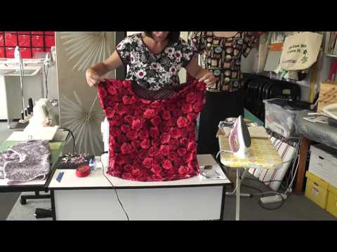 B/Club Feb 2016 Bondi top and fabric Pouch