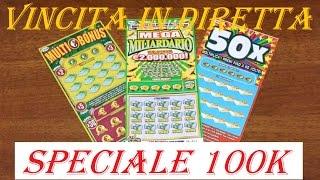 Speciale 100k Visualizzazioni e 100 Iscritti con Vincita - PlayMario TV - Gratta & Vinci