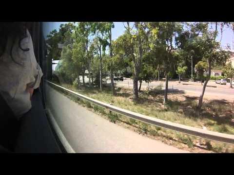 Путь в Салоу из Барселоны на Bus Plana