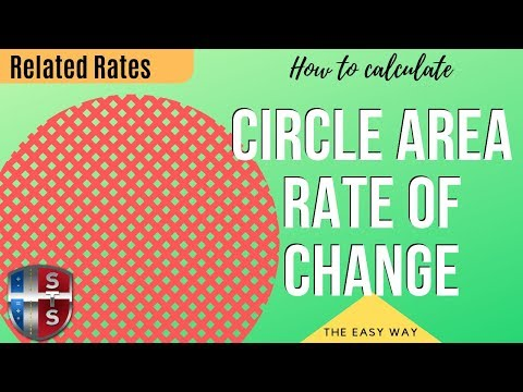 Calculus - Related Rates - Circle Area Analytics
