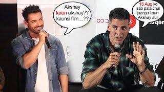 Akshay Kumar's BEST Reply to John Abrahams INSULT on Batla HOuse CLASH Wid Mission Mangal