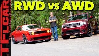 Cat OR Hawk: 2018 Dodge Widebody Hellcat  vs Jeep Trackhawk 1414 HP Review!
