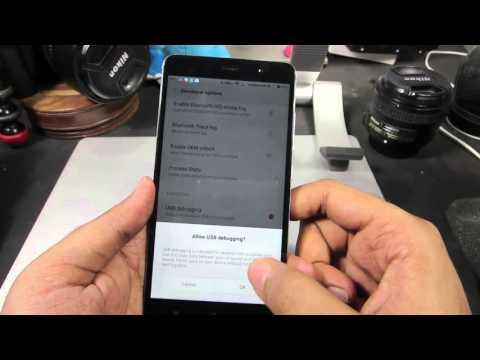 How to Enable Developer Options and USB Debugging on Redmi Note 3/4 (MI4, MI3,Redmi 3s,Redmi 4,Mi5)