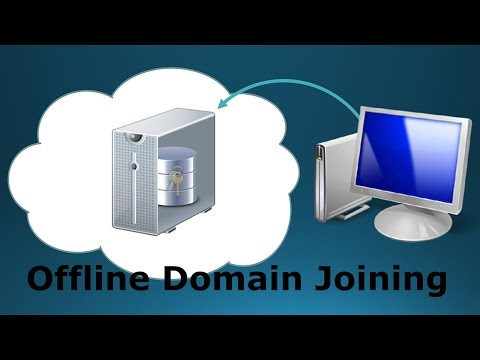 70-410 Objective 5.2 - How To Offline Domain Join a Workstation on Windows Server 2012 R2