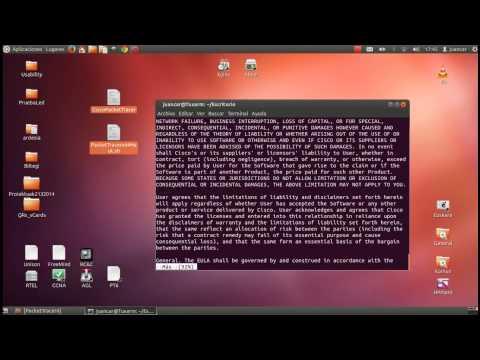 Packet Tracer 6.0.1: Instalación en Ubuntu 12.04 64bits