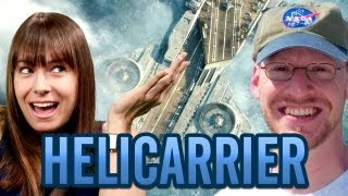 THE AVENGERS' S.H.I.E.L.D. Helicarrier - Fact or Fictional w/ Veronica Belmont