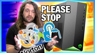 Embarrassingly Bad: HP Pavilion $1430 Prebuilt Gaming PC (TG01-1160XT Review)