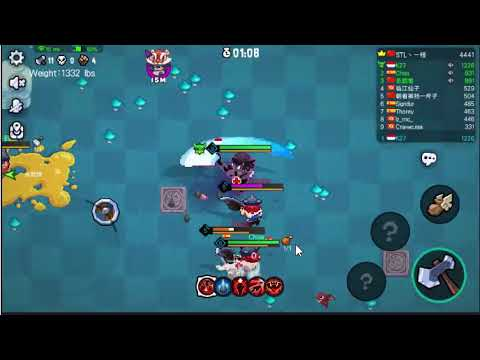 Alternative MOBA Game BarbarQ