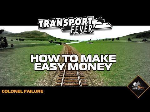 Transport Fever Easy Profit Making Money in 1850 Tutorial