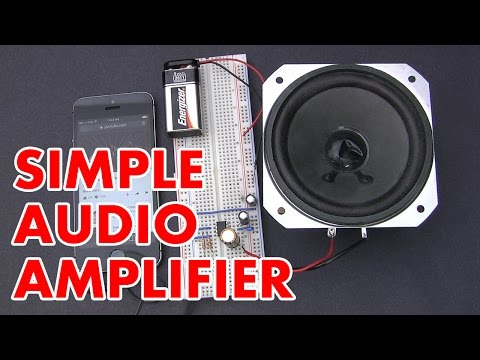 🔊 How to make an LM386 audio amplifier circuit