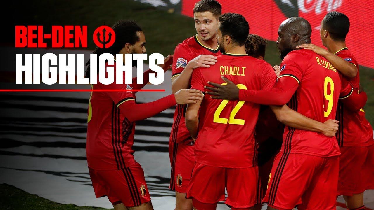 #REDDEVILS | #NationsLeague 2020-2021 | Belgium - Denmark 4-2