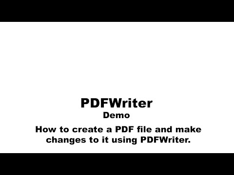 How to Use PDFWriter for Mac