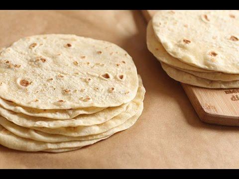 pain à tortillas maison /