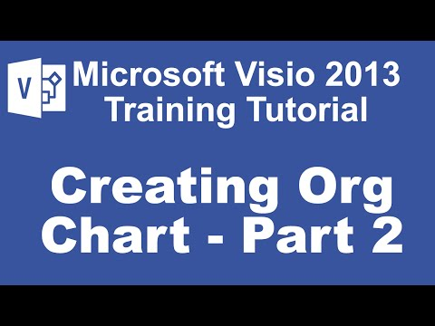 Automatically Create an Organizational Chart in Visio 2013 Using External Data
