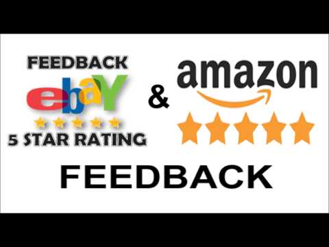 1 Simple Fix for Ebay & Amazon Feedback so it's more Fair to Sellers.