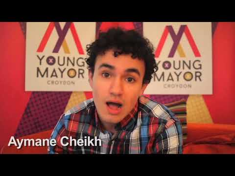 Croydon Young Mayor candidate - Aymane Cheikh