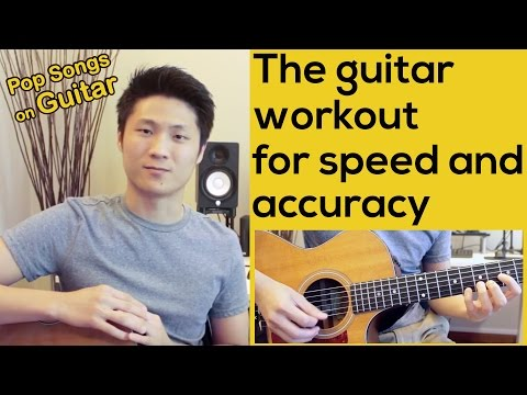 The guitar workout for speed and accuracy