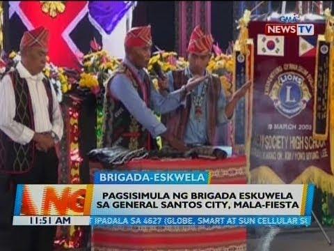 BT: Pagsisimula ng Brigada Eskuwela sa General Santos City, mala-fiesta