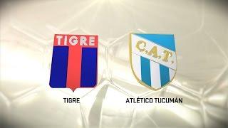 Fútbol en vivo. Tigre vs. Atlético Tucumán. Fecha 14. Torneo de Primera División 2016/2017. FPT